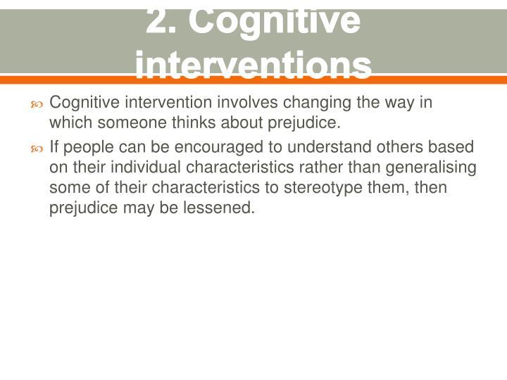 2. Cognitive
