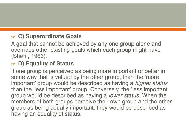 C) Superordinate