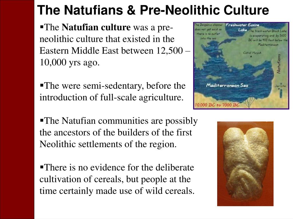The Natufians & Pre-Neolithic Culture