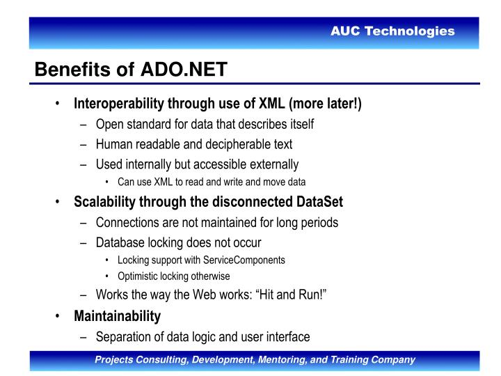 Interoperability through use of XML (more later!)