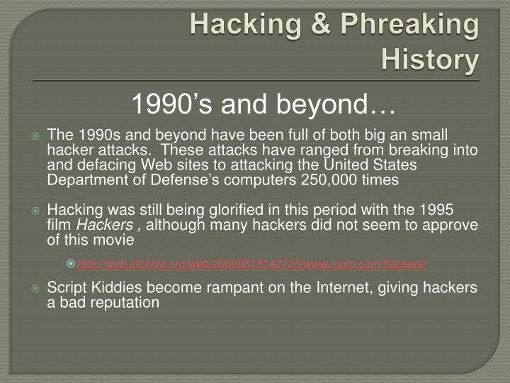 Hacking &