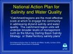 national action plan for salinity and water quality