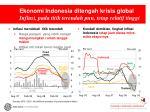 ekonomi indonesia ditengah krisis global inflasi pada titik terendah pun tetap relatif tinggi