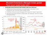 ekonomi indonesia ditengah krisis global pasar pasar modal mulai stabil