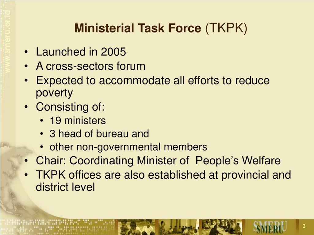 Ministerial Task Force