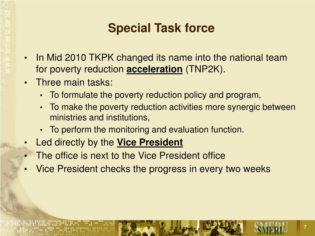 Special Task force