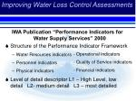 improving water loss control assessments