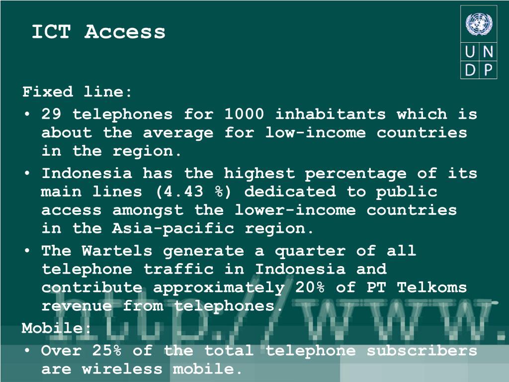 ICT Access