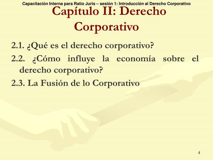 2.1. ¿Qué es el derecho corporativo?