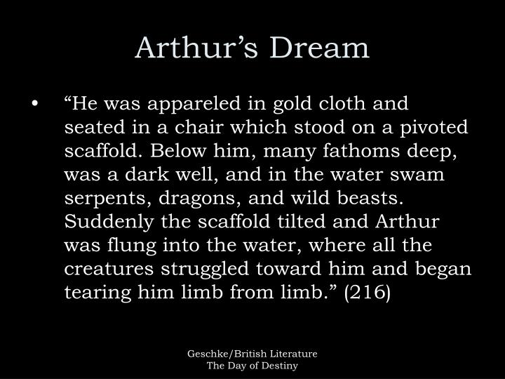 Arthur s dream