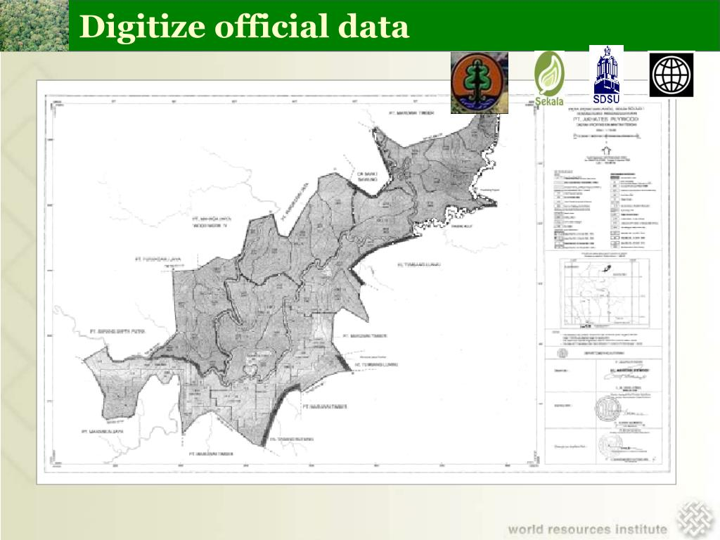 Digitize official data