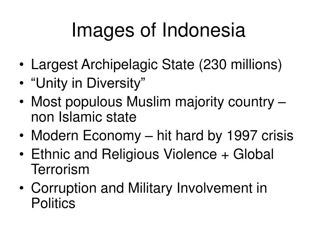 Images of Indonesia