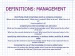definitions management3