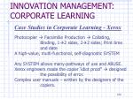 innovation management corporate learning5