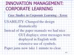 innovation management corporate learning8