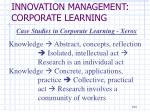innovation management corporate learning9