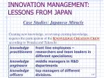 innovation management lessons from japan2