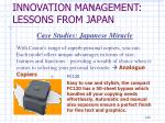 innovation management lessons from japan5