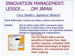 innovation management lessons from japan8