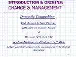 introduction origins change management2