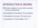 introduction origins