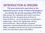 introduction origins5