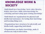 knowledge work society8