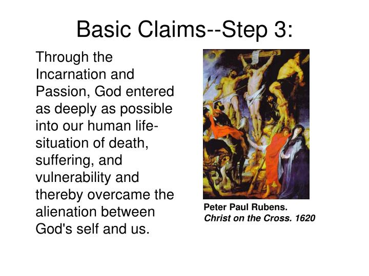 Basic Claims--Step 3: