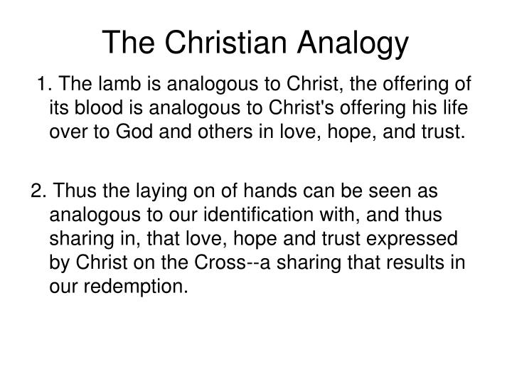 The Christian Analogy