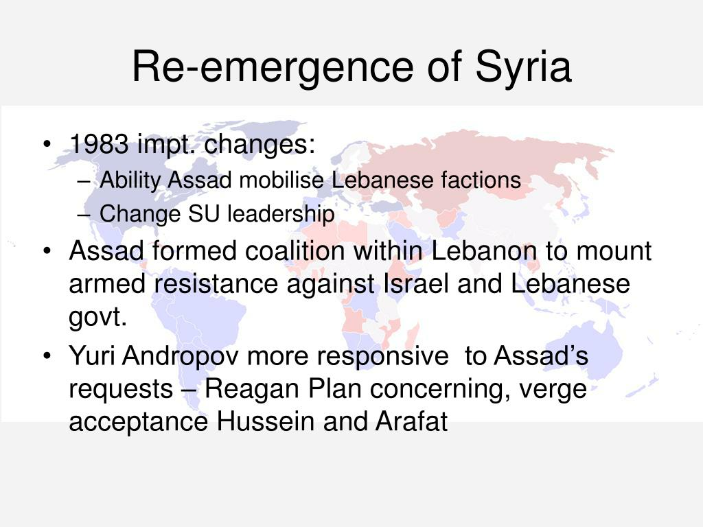 Re-emergence of Syria