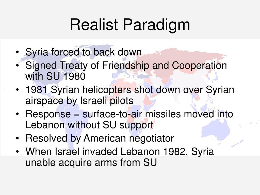Realist Paradigm