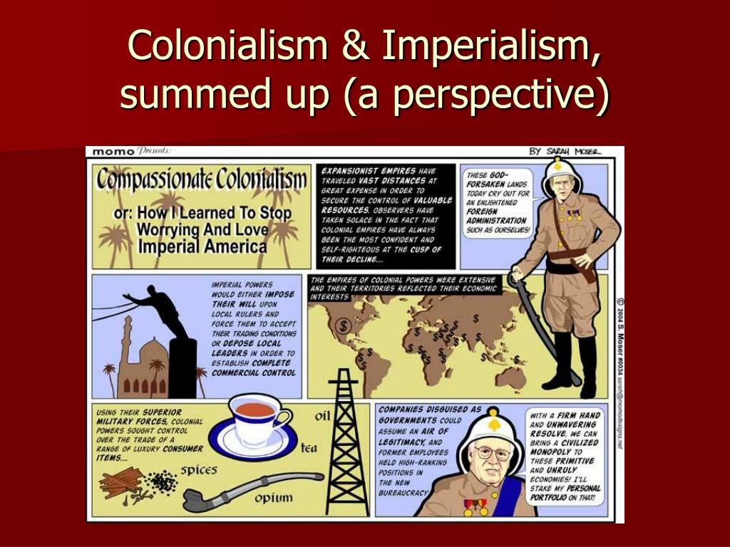Colonialism & Imperialism,