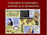 colonialism imperialism summed up a perspective