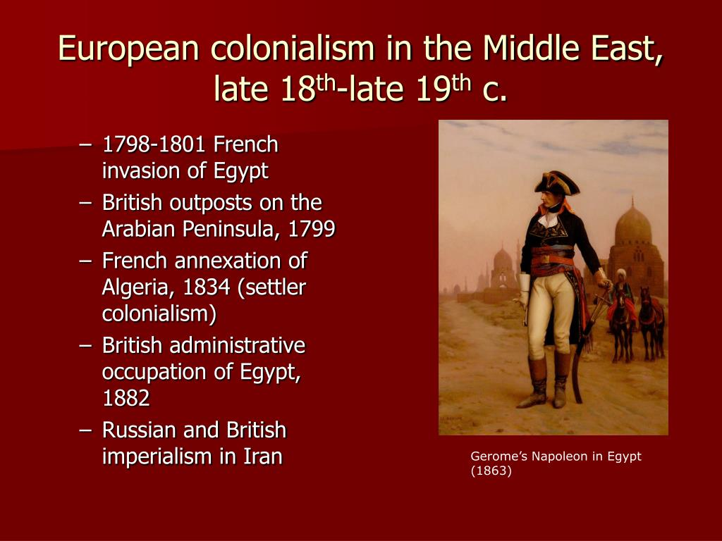 1798-1801 French invasion of Egypt