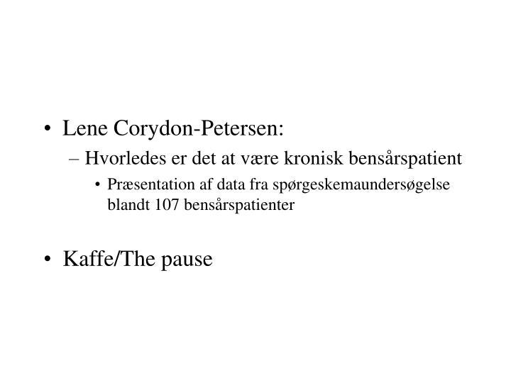 Lene Corydon-Petersen: