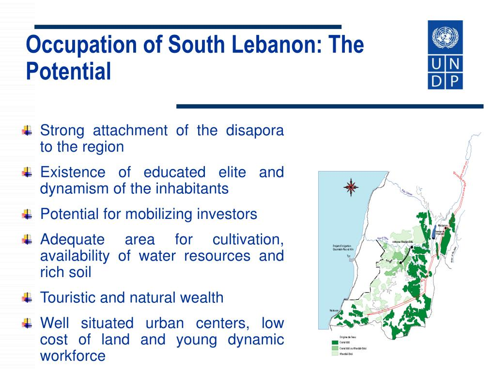 Occupation of South Lebanon: The Potential