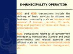 e municipality operation17