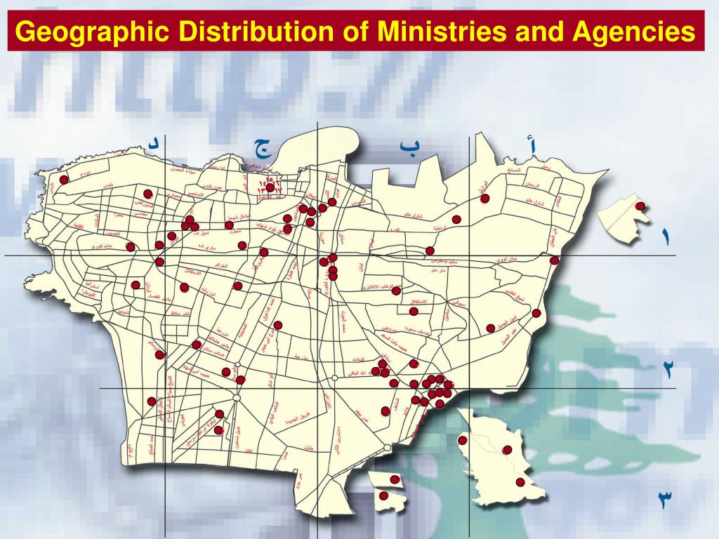 Geographic Distribution of Ministries and Agencies