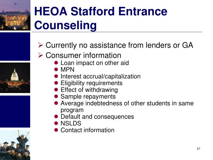 HEOA Stafford Entrance Counseling