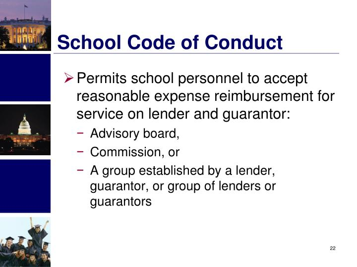School Code of Conduct
