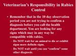 veterinarian s responsibility in rabies control26