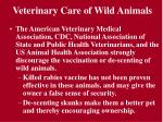 veterinary care of wild animals20