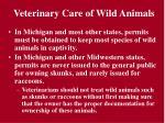 veterinary care of wild animals21