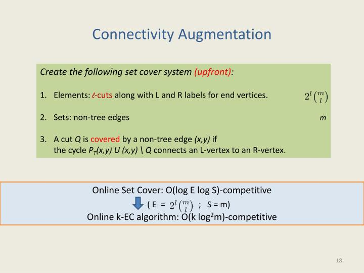 Connectivity Augmentation