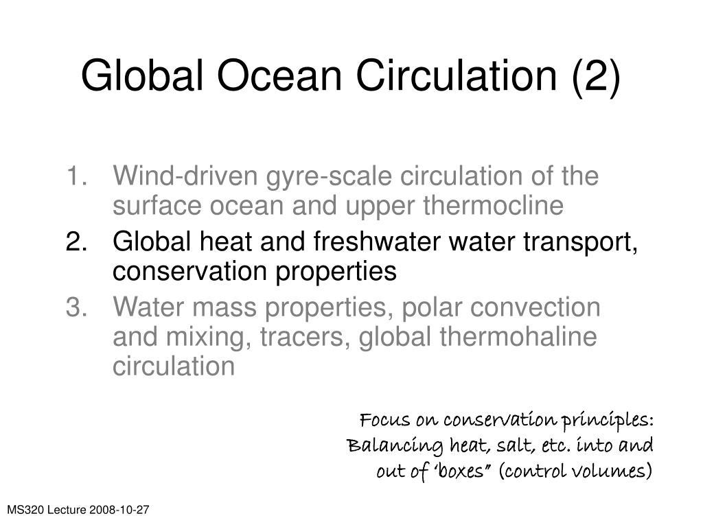 Global Ocean Circulation (2)