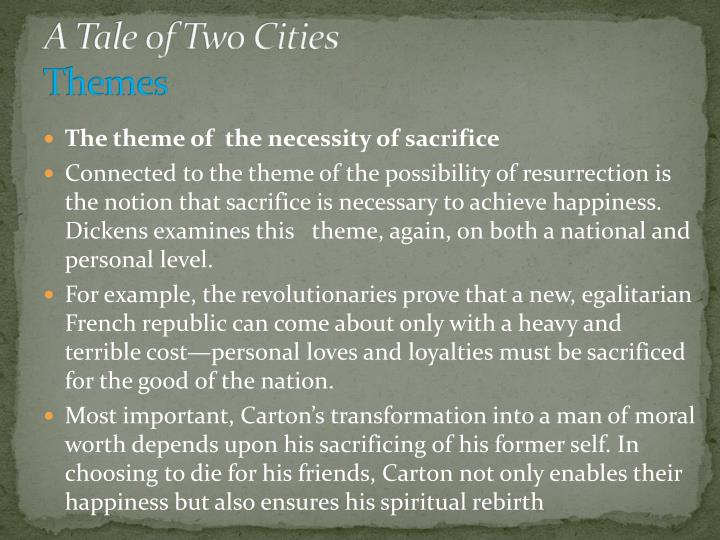 The Tale of Two Cities: Themes