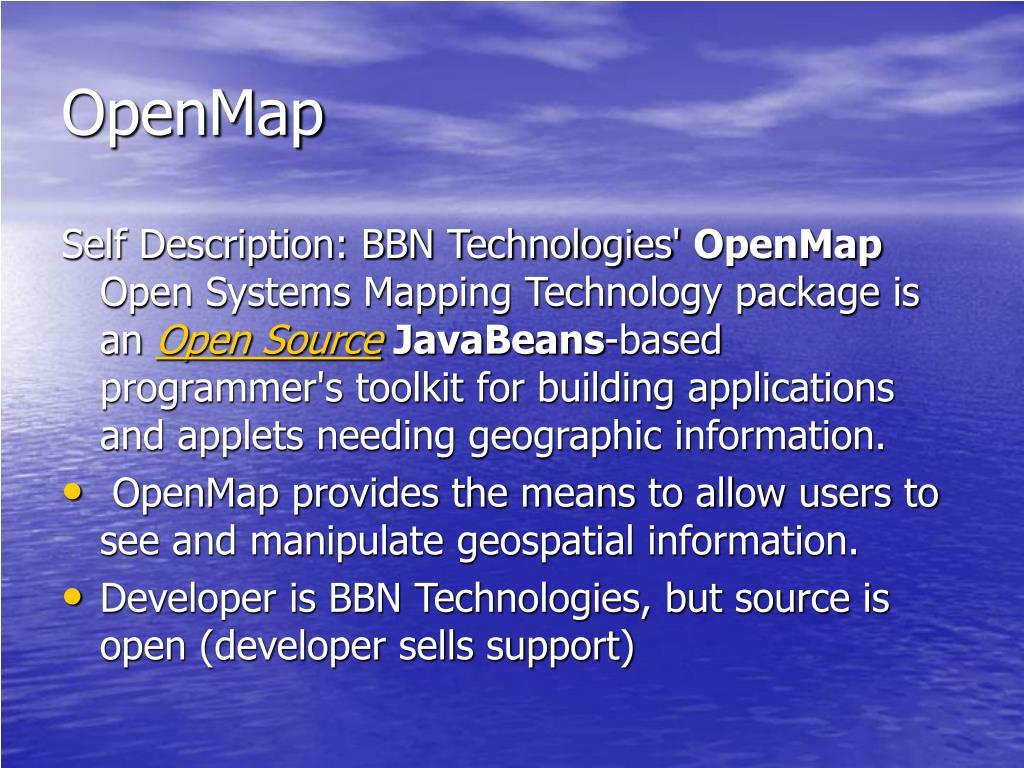 OpenMap