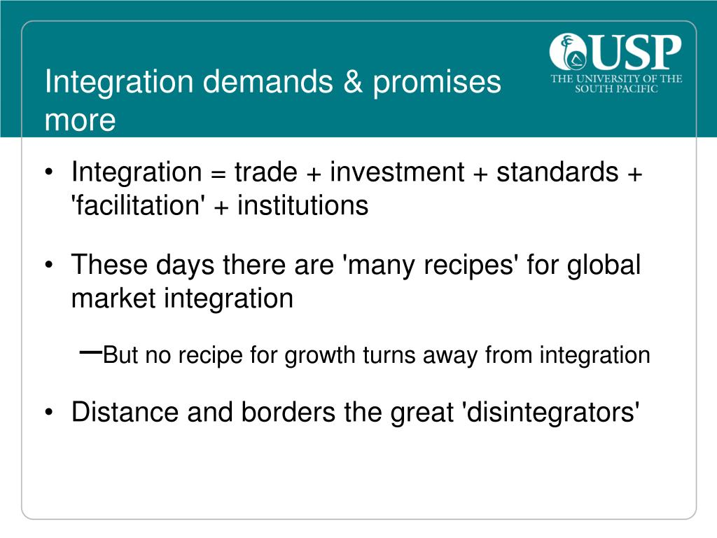 Integration demands & promises more