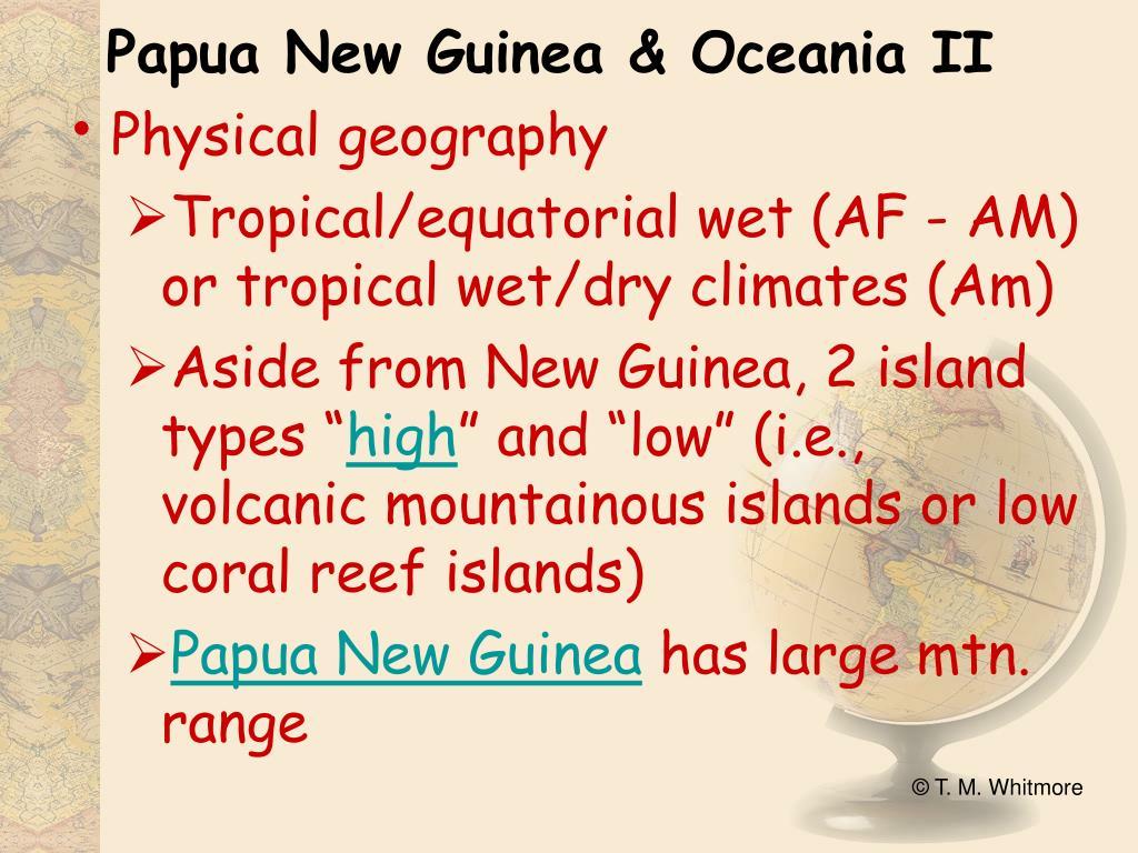 Papua New Guinea & Oceania II