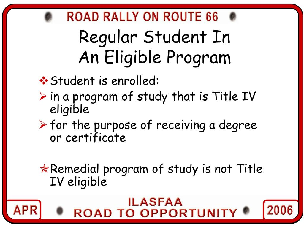 Regular Student In